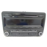 VOLKSWAGEN GOLF VI - 1/2009 to 3/2013 - 5DR HATCH - CD RADIO