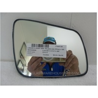 MITSUBISHI LANCER CJ/CX/CY - 9/2007 to CURRENT - 4DR SEDAN/5DR HATCH - RIGHT SIDE MIRROR WITH BACKING - 167mm x 125mm