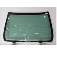 HONDA CITY GM6 - 4/2014 to CURRENT - 4DR SEDAN - REAR SCREEN GLASS - HEATED - GREEN