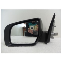 MAZDA BT-50 UP- 10/2011 to CURRENT - UTILITY - LEFT SIDE COMPLETE MIRROR - ELECTRIC - BLACK