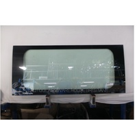 FORD TRANSIT VH /VJ/VM - LWB VAN 2000>2014 - PASSENGER - LEFT SIDE FRONT BONDED FIXED WINDOW GLASS - GREEN - NEW