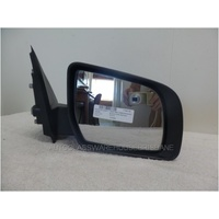 MAZDA BT-50 UP - 10/2011 to CURRENT - UTILITY - RIGHT SIDE MIRROR - COMPLETE - ELECTRIC - BLACK