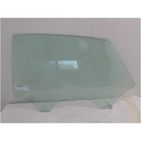 AUDI A7 4G - 4/2011 ONWARDS - 5DR HATCH - LEFT SIDE REAR DOOR GLASS - GREEN - NEW