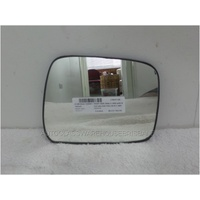 NISSAN NAVARA D40 - 12/2005 to 03/2015 - THAI BUILT - UTE - RIGHT SIDE MIRROR WITH BACKING PLATE (205w X 160h)