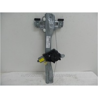 HOLDEN CRUZE JG/JH - 5/2009 to 6/2012 - 4DR SEDAN - LEFT SIDE REAR DOOR WINDOW REGULATOR - ELECTRIC