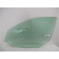 MERCEDES E CLASS W212 - 7/2009 TO CURRENT - SEDAN/WAGON - LEFT SIDE FRONT DOOR GLASS - GREEN