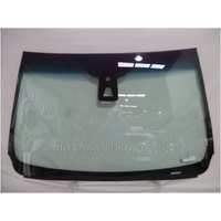 FORD EVEREST UA - 10/2015 to CURRENT - 5DR WAGON - FRONT WINDSCREEN GLASS - RAIN SENSOR,ACOUSTIC,CAMERA,COWL RETAINER - GREEN