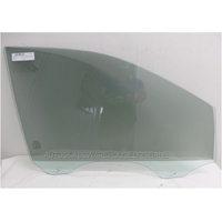 FORD EVEREST UA - 10/2015 to CURRENT - 5DR WAGON - RIGHT SIDE FRONT DOOR GLASS - GREEN