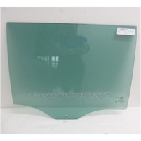 FORD EVEREST UA - 10/2015 to CURRENT - 5DR WAGON - RIGHT SIDE REAR DOOR GLASS - DARK GREEN (1 HOLE)