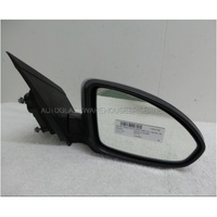 HOLDEN CRUZE JG/JH - 5/2009 to 6/2012 - 4DR SEDAN - RIGHT SIDE MIRROR - E13-027379 - SILVER