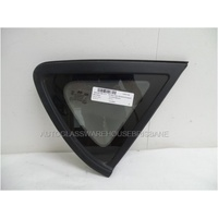 HYUNDAI ACCENT RB - 7/2011 to CURRENT - 5DR HATCH - RIGHT SIDE OPERA GLASS - ENCAPSULATED - GREEN - NEW