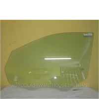 JEEP GRAND CHEROKEE WK - 1/11>CURRENT - LEFT SIDE FRONT DOOR GLASS - NEW (TEMPERED)