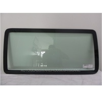 JEEP WRANGLER JK - 3/2007 to 11/2010 - 4DR WAGON - DRIVERS - RIGHT SIDE CARGO GLASS - GREEN (876w X 425h)