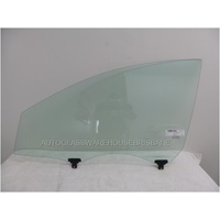 KIA CERATO - 4/5DR SED/HAT 1/09>CURR - PASSENGERS - LEFT SIDE - FRONT DOOR GLASS