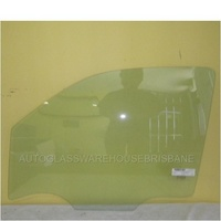 NISSAN NAVARA D40 -(thia build) 2/4DR DUAL CAB 12/2005 >3/2015 - LEFT SIDE FRONT DOOR GLASS