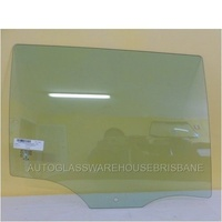 SKODA SUPERB WAGON 5/10 to 4 DR WAGON RIGHT SIDE REAR DOOR GLASS