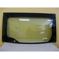 suitable for TOYOTA PRIUS ZVW30R ZVW30R - 7/2009 to CURRENT - 5DR HATCH - REAR SCREEN GLASS