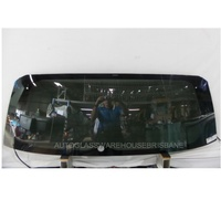 TOYOTA RAV4 30 SERIES - 1/2006 to 2/2013 - 5DR WAGON - REAR WINDSCREEN GLASS - HEATED - PRIVACY GREY - 1 HOLE