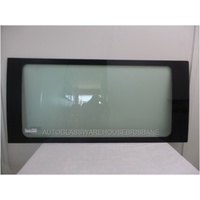 FIAT DUCATO 2/2007 to CURRENT - LWB VAN - RIGHT SIDE FRONT FIXED BONDED WINDOW GLASS - 1430w X 665h - NEW