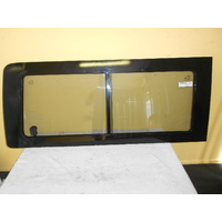 suitable for TOYOTA HIACE - KH220 - 4/2005 > CURRENT - DRIVERS - RIGHT SIDE -REAR SLIDING WINDOW UNIT