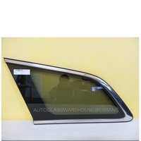 MAZDA CX7 - 4DR WAGON 11/06>1/12 - PASSENGER - LEFT SIDE CARGO GLASS - CHROME
