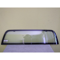 HOLDEN COLORADO RC - 2DR UTE 7/08>12/11 - REAR WINDSCREEN - CLEAR