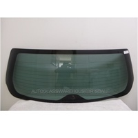 SUBARU LIBERTY/OUTBACK 5TH GEN - 9/2009 to CURRENT - 4DR WAGON - REAR SCREEN GLASS - NEW - GREEN
