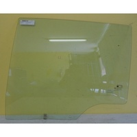 SSANGYONG ACTYON C100 - 4DR UTE 3/07>4/12 - PASSENGERS- LEFT SIDE - REAR DOOR GLASS