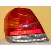 suitable for TOYOTA ECHO - 4 DOOR SEDAN 10/99>9/05 - PASSENGERS - LEFT SIDE TAIL LIGHT