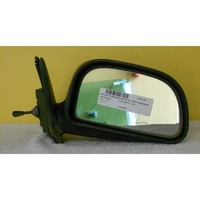 MITSUBISHI MIRAGE/LANCER - 2DR COUPE 6/96>8/04-RIGHT SIDE COMPLETE MANUAL MIRROR