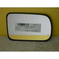 suitable for TOYOTA CAMRY SV21 - 4 DOOR SEDAN 5/87>1/93 - DRIVER - RIGHT SIDE MIRROR GLASS ONLY