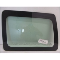 JEEP PATRIOT MK - 8/2007 to CURRENT - 4DR WAGON - LEFT SIDE REAR CARGO GLASS - GREEN