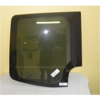 MERCEDES SPRINTER MWB - 9/2006 to CURRENT - VAN - LEFT SIDE BARN DOOR GLASS (GLUED IN) - PRIVACY TINT - NEW