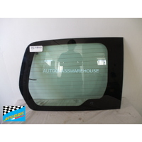 CITROEN BERLINGO L1 - 3/2009 to CURRENT - VAN - LEFT SIDE REAR BARN DOOR GLASS - HEATED (1 HOLE)