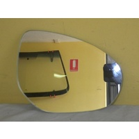 MAZDA 2 - 5DR HATCH 9/07>8/14 - RIGHT SIDE MIRROR (glass only) NEW - 166mm X 125mm high