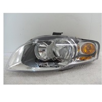 AUDI A4 B7 - 4DR SEDAN 2/05>12/07 - PASSENGER - LEFT SIDE HEADLIGHT - NEW