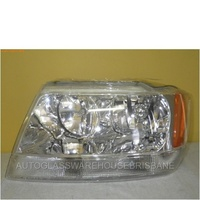 JEEP GRAND CHEROKEE WJ/WG - WAGON 6/99>2005 - PASSENGER - LEFT SIDE HEADLIGHT - NEW