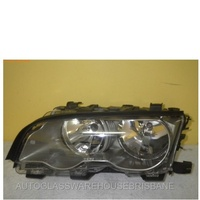 BMW 3 SERIES E46 - 2DR COUPE/CONVERTIBLE 11/00>4/03 - PASSENGER - LEFT SIDE HEADLIGHT - NEW ( SILVER/GREY)