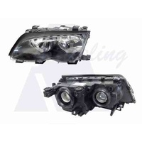 BMW 3 SERIES E46 - 4DR SEDAN/WAGON 11/01>2/05 - PASSENGER - LEFT SIDE HEADLIGHT - NEW