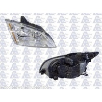 FORD FOCUS LS/LT - SEDAN/HATCH 1/05>2/09 - DRIVERS - RIGHT SIDE HEADLIGHT - NEW - CLEAR