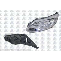 FORD FOCUS LW - SEDAN/HATCH 4/11>CURRENT - PASSENGER - LEFT SIDE HEADLIGHT - NEW - SILVER
