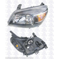FORD RANGER PK - UTE 5/09>8/11 - PASSENGER - LEFT SIDE HEADLIGHT - NEW - BLACK