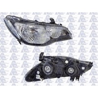 HONDA CIVIC FD SERIES 1 - 4DR SEDAN/HYBRID 2/06>CURRENT - DRIVERS - RIGHT SIDE HEADLIGHT - NEW