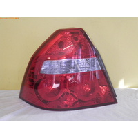 HOLDEN BARINA SEDAN 1/06 to 9/11 TK  4DR SEDAN REAR TAIL-LIGHT LEFT TAIL LIGHT