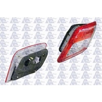 suitable for TOYOTA CAMRY CV40 - 4DR SEDAN 7/09>ON - DRIVERS - RIGHT SIDE TAIL LIGHT - NEW (RED/CLEAR/RED) LED / INNER