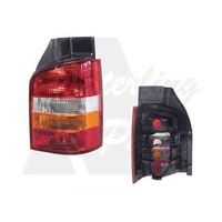 VOLKSWAGEN TRANSPORTER T5 VAN - 08/2004>ONWARDS - RIGHT SIDE TAIL LIGHT - NEW (RED/CLEAR/AMBER)