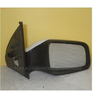 HOLDEN BARINA TK - 4DR SEDAN 1/06>9/11 - RIGHT SIDE COMPLETE ELECTRIC MIRROR - 010534-GM 09142095 DK3
