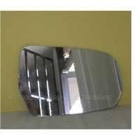 MITSUBISHI 380 DB - 4DR SEDAN 9/05>3/08 - RIGHT SIDE MIRROR - NEW (flat glass only) 115mm X 175mm
