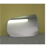 MITSUBISHI 380 DB - 4DR SEDAN 9/05>3/08 - LEFT SIDE MIRROR - NEW (flat glass only) 115mm X 175mm