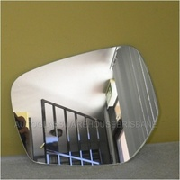 MITSUBISHI TRITON ML / MN - 4DR DUAL CAB 6/2006 > 4/2015 - LEFT SIDE MIRROR - NEW (flat glass only) - 195mm X 157mm